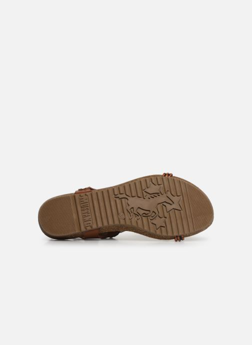 Sandalen Mustang shoes Tylane Bruin boven