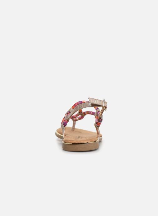 Sandales et nu-pieds Mustang shoes Afton Multicolore vue droite