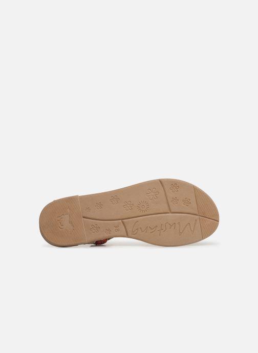 Sandales et nu-pieds Mustang shoes Afton Multicolore vue haut