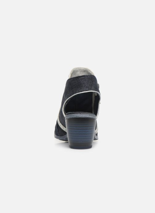 Bottines et boots Mustang shoes Ulrika Bleu vue droite