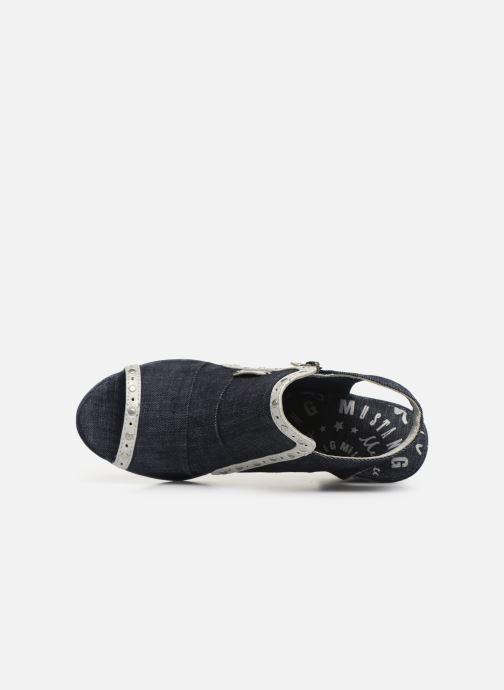 Bottines et boots Mustang shoes Ulrika Bleu vue gauche