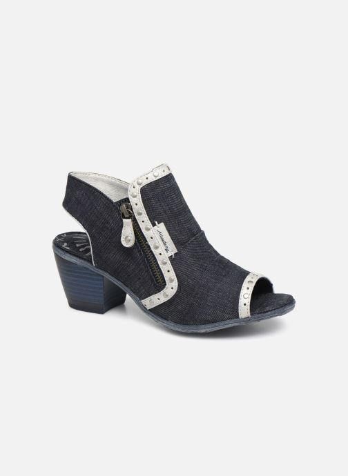 Ankle boots Mustang shoes Ulrika Blue detailed view/ Pair view