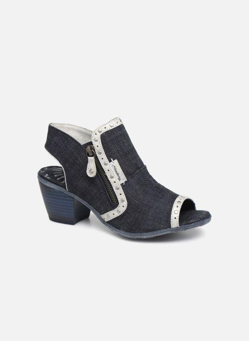 Bottines et boots Mustang shoes Ulrika Bleu vue détail/paire