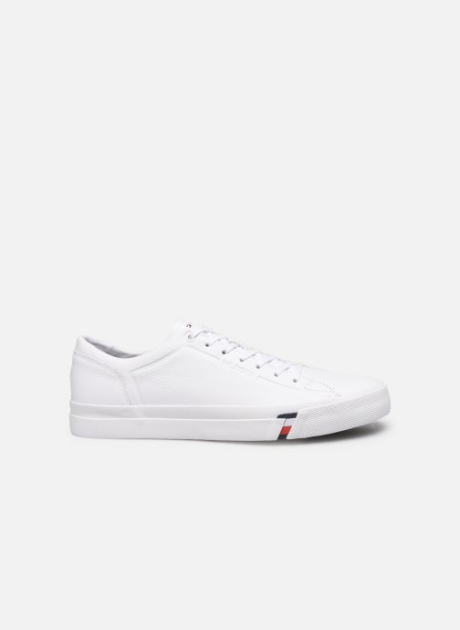 Trainers Tommy Hilfiger CORPORATE LEATHER SNEAKER White back view