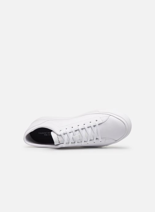 Trainers Tommy Hilfiger CORPORATE LEATHER SNEAKER White view from the left