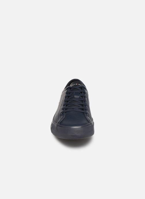 Sneakers Tommy Hilfiger CORPORATE LEATHER SNEAKER Blauw model