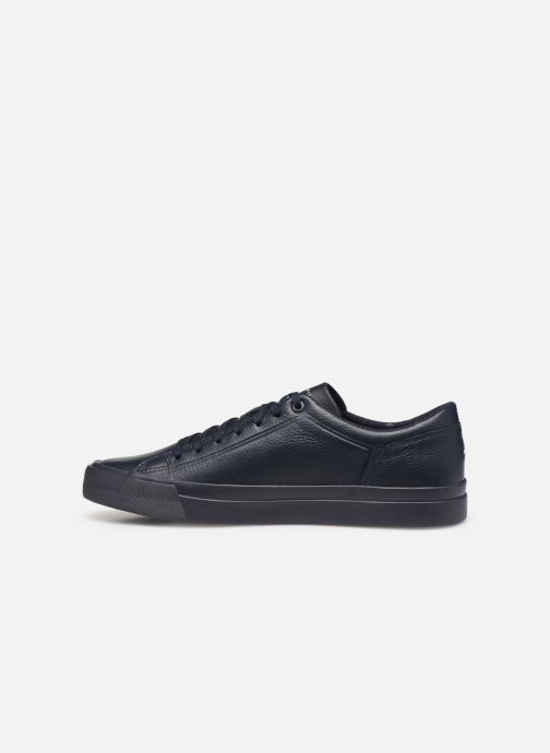Sneakers Tommy Hilfiger CORPORATE LEATHER SNEAKER Blå se forfra