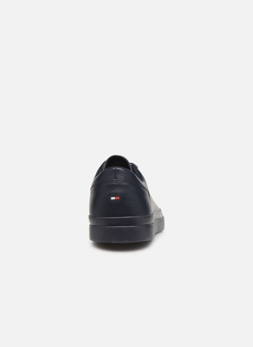 Sneakers Tommy Hilfiger CORPORATE LEATHER SNEAKER Blauw rechts