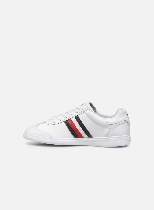 Baskets Tommy Hilfiger ESSENTIAL CORPORATE CUPSOLE Blanc vue face