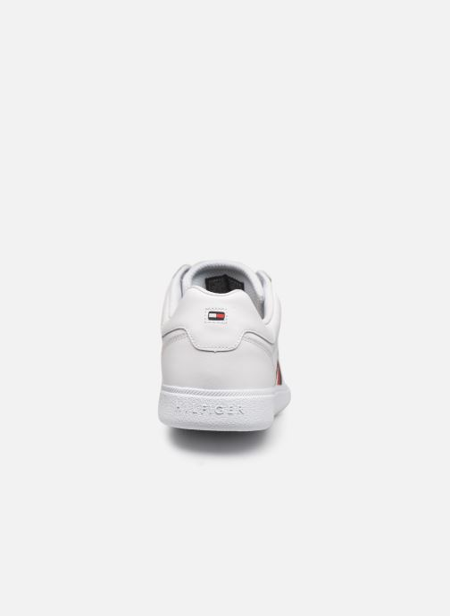 Baskets Tommy Hilfiger ESSENTIAL CORPORATE CUPSOLE Blanc vue droite