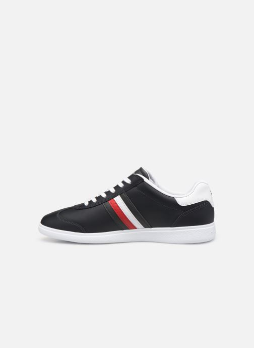 Baskets Tommy Hilfiger ESSENTIAL CORPORATE CUPSOLE Bleu vue face