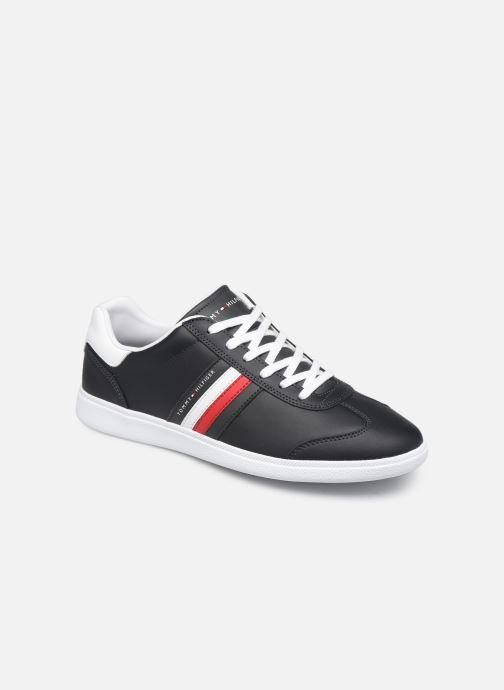 Baskets Tommy Hilfiger ESSENTIAL CORPORATE CUPSOLE Bleu vue détail/paire