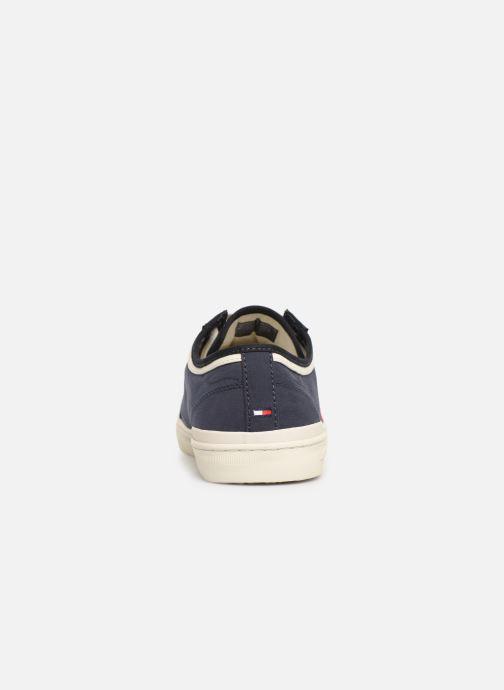 Sneakers Tommy Hilfiger CORE CORPORATE SEASONAL SNEAKER Blauw rechts