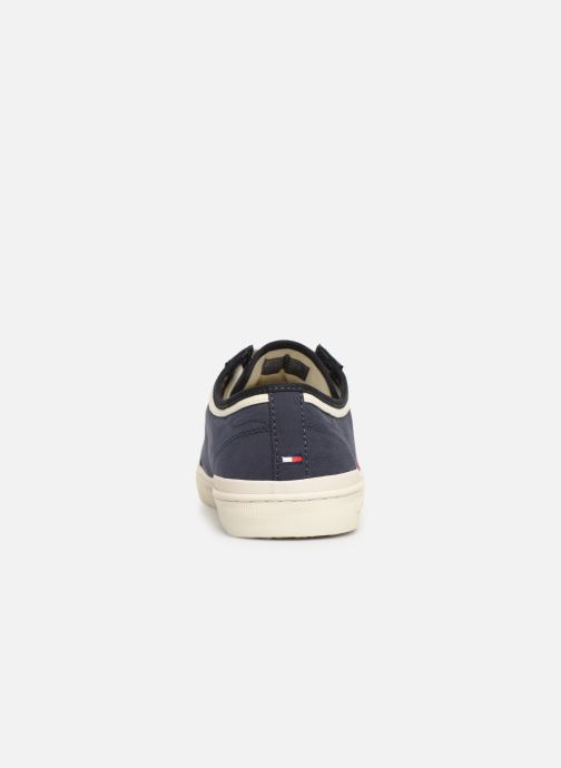 Baskets Tommy Hilfiger CORE CORPORATE SEASONAL SNEAKER Bleu vue droite