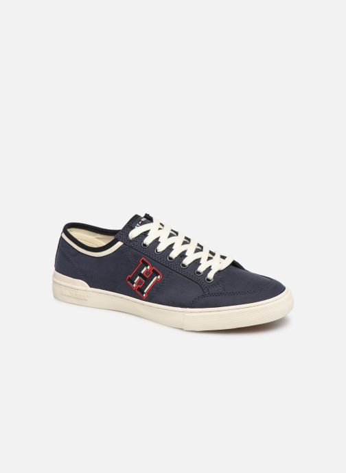 Baskets Tommy Hilfiger CORE CORPORATE SEASONAL SNEAKER Bleu vue détail/paire