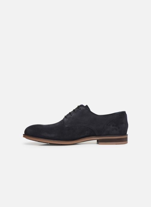 Chaussures à lacets Tommy Hilfiger DRESS CASUAL SUEDE SHOE Bleu vue face