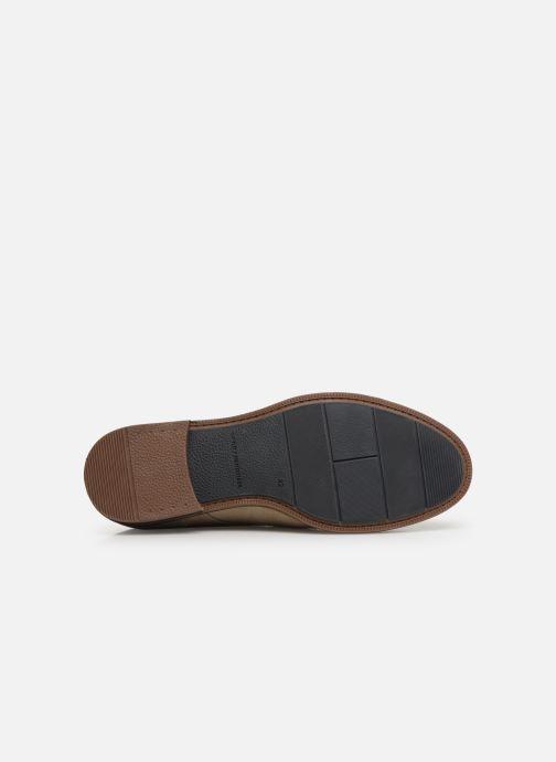 Chaussures à lacets Tommy Hilfiger DRESS CASUAL SUEDE SHOE Beige vue haut