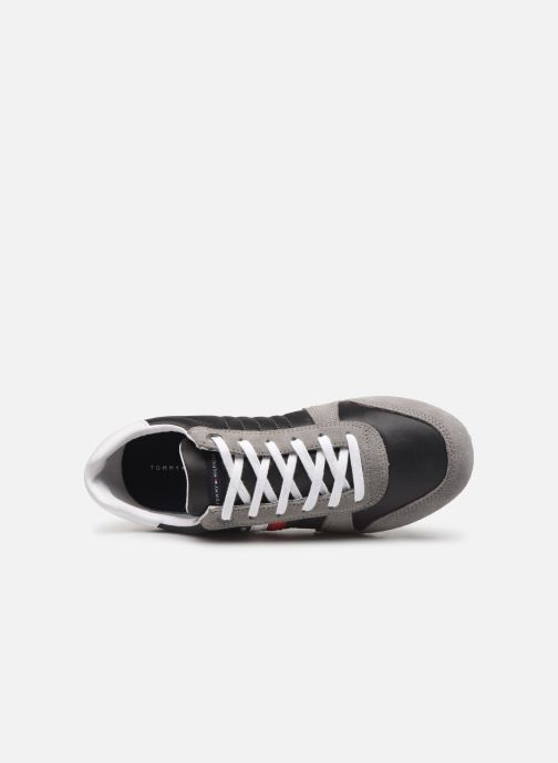 Sneakers Tommy Hilfiger ESSENTIAL NYLON  RUNNER Grigio immagine sinistra