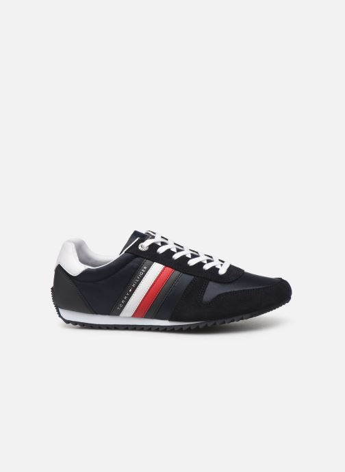 Sneakers Tommy Hilfiger ESSENTIAL NYLON  RUNNER Blauw achterkant