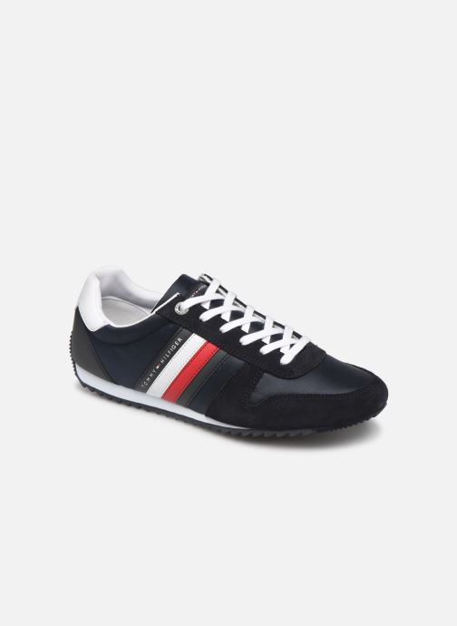 Baskets Tommy Hilfiger ESSENTIAL NYLON  RUNNER Bleu vue détail/paire
