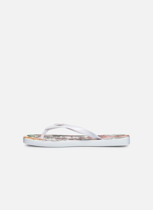 Chanclas Ipanema Botanicals Blanco vista de frente