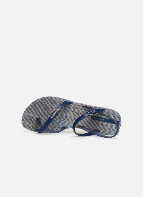 Sandalias Ipanema Fashion Sand VI Azul vista lateral izquierda