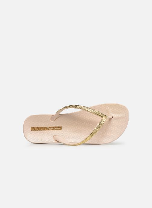 Slippers Ipanema Mesh III Goud en brons links