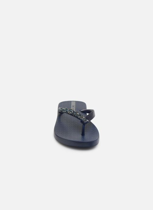 Tongs Ipanema Glam Special Bleu vue portées chaussures