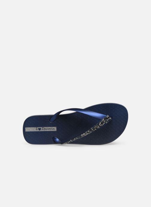Tongs Ipanema Glam Special Bleu vue gauche