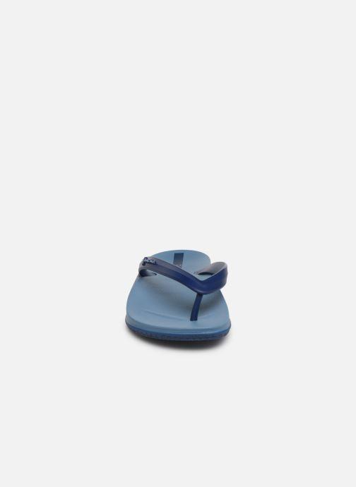 Tongs Ipanema Anatomic Lapa Bleu vue portées chaussures