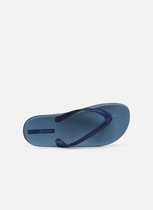 Flip flops Ipanema Anatomic Lapa Blue view from the left