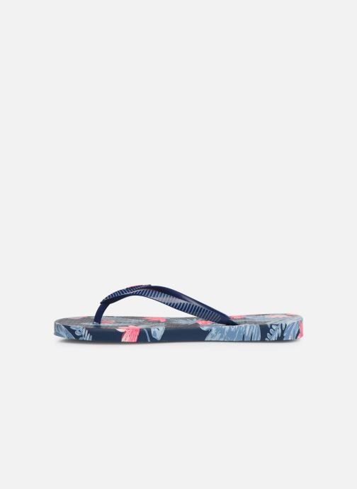Flip flops Ipanema I Love Tropical Blue front view