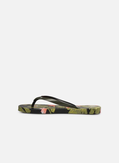 Tongs Ipanema I Love Tropical Noir vue face