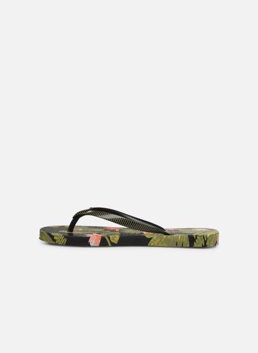 Flip flops Ipanema I Love Tropical Black front view