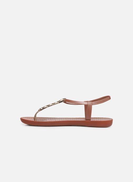 Sandals Ipanema Charm VI Sandal Brown front view