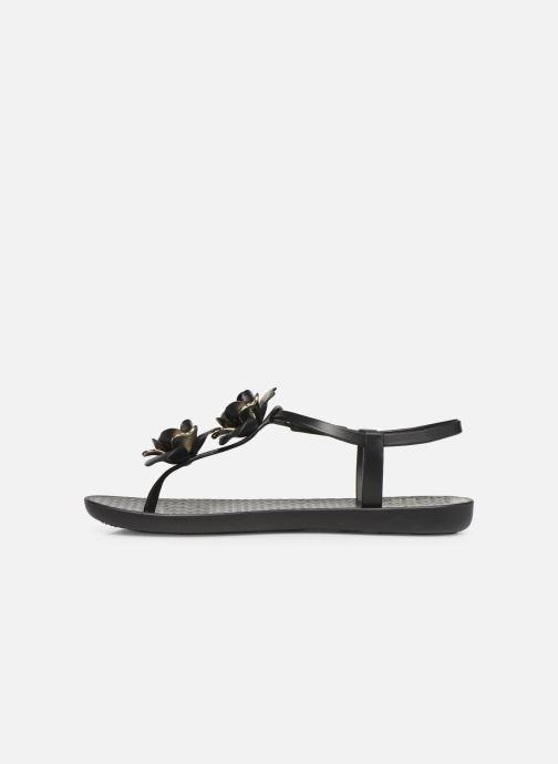 Sandalias Ipanema Floral Sandal Negro vista de frente