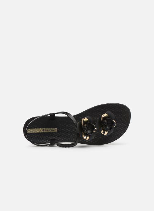 Sandales et nu-pieds Ipanema Floral Sandal Noir vue gauche