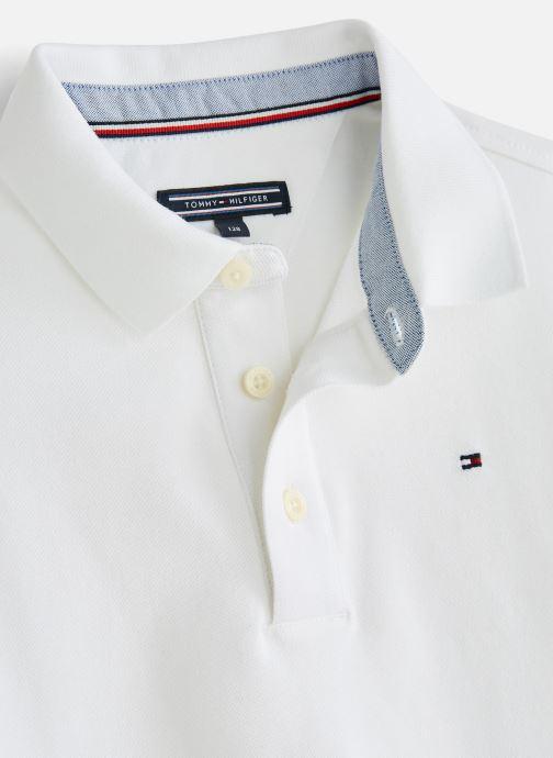 Vêtements Tommy Hilfiger KB0KB03975 Blanc vue portées chaussures