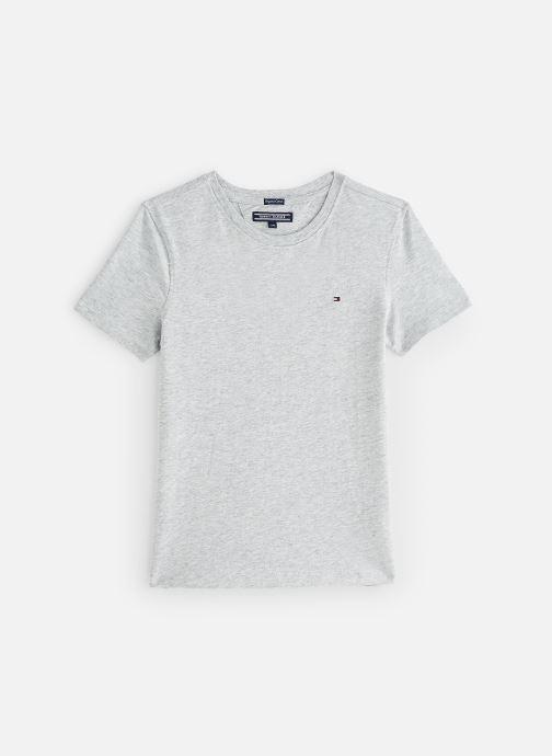 Vêtements Tommy Hilfiger BOYS BASIC CN KNIT S Gris vue détail/paire