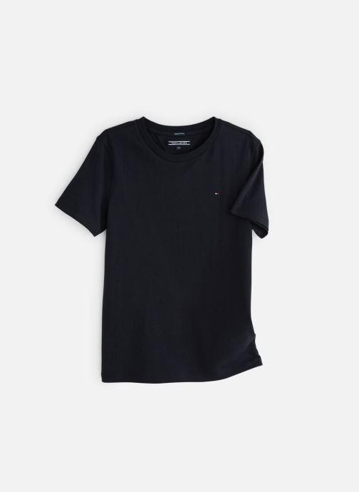 Vêtements Tommy Hilfiger BOYS BASIC CN KNIT S Bleu vue détail/paire