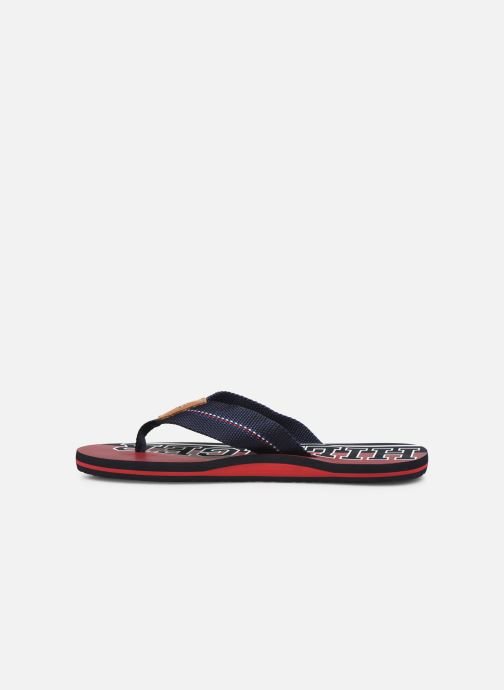 Tongs Tommy Hilfiger HILFIGER STRIPE BEACH SANDAL Bleu vue face