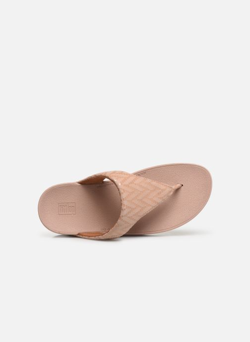 Lottie Et Pink Mules Oyster Chevron Sabots Fitflop Y6yg7bf