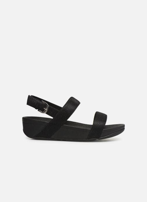 Sandales et nu-pieds FitFlop Lottie Glitzy Backstrap Sandal Noir vue derrière