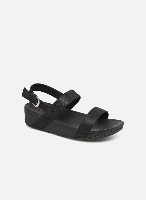 Sandales et nu-pieds FitFlop Lottie Glitzy Backstrap Sandal Noir vue détail/paire