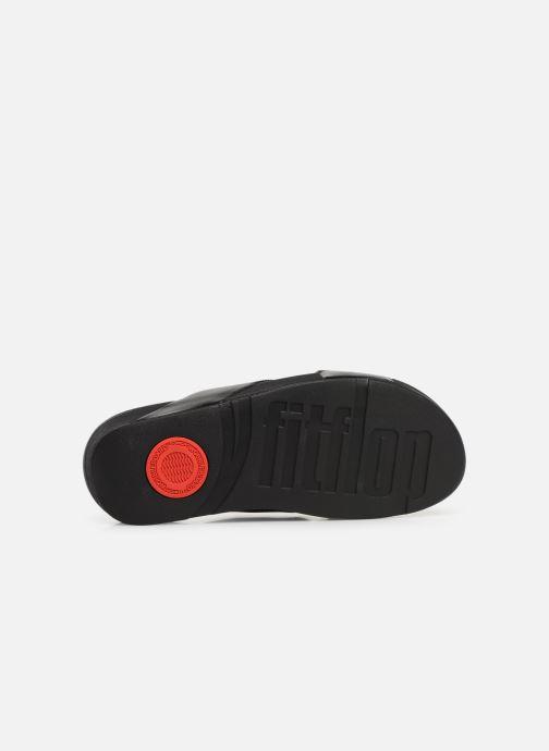 Pantoletten amp; 363950 Fitflop Slide Lulu Cross Clogs schwarz KqaSpgYwS