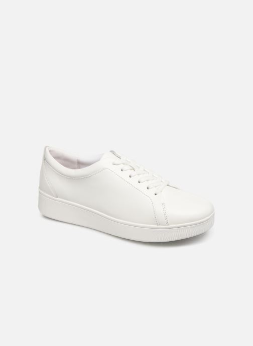 Baskets FitFlop Rally Sneaker Blanc vue détail/paire