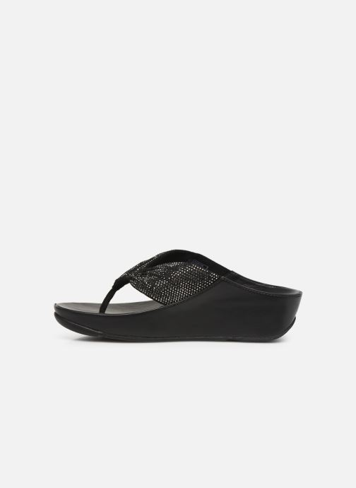 Mules & clogs FitFlop Twiss Crystal Black front view