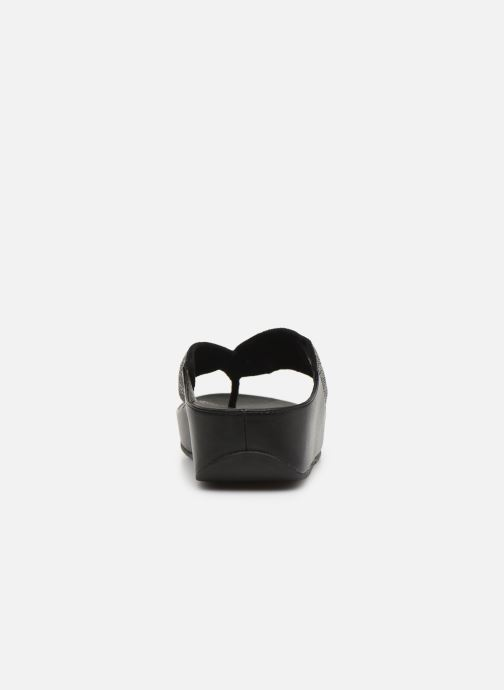 Mules & clogs FitFlop Twiss Crystal Black view from the right