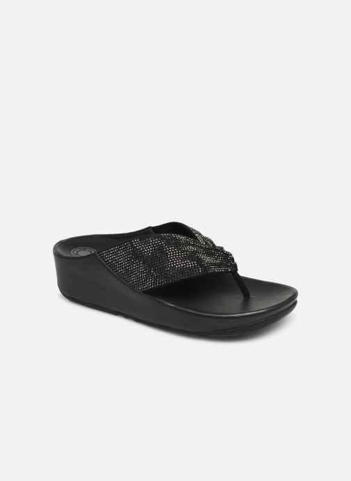 Mules & clogs FitFlop Twiss Crystal Black detailed view/ Pair view