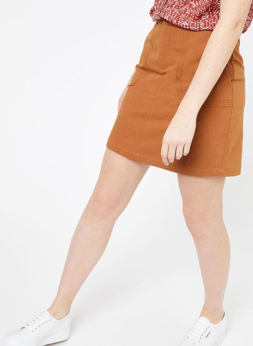Vêtements Suncoo JUPE FREYA Marron vue détail/paire